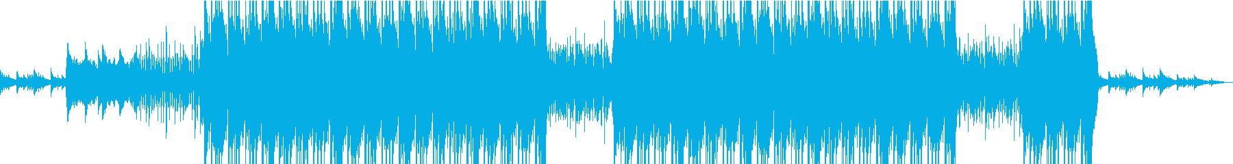 エモーショナルなピアノが印象的なビートの再生済みの波形