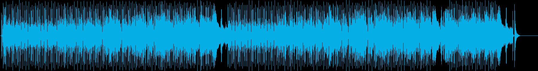 ブラスのキュートなロックン・ロールの再生済みの波形