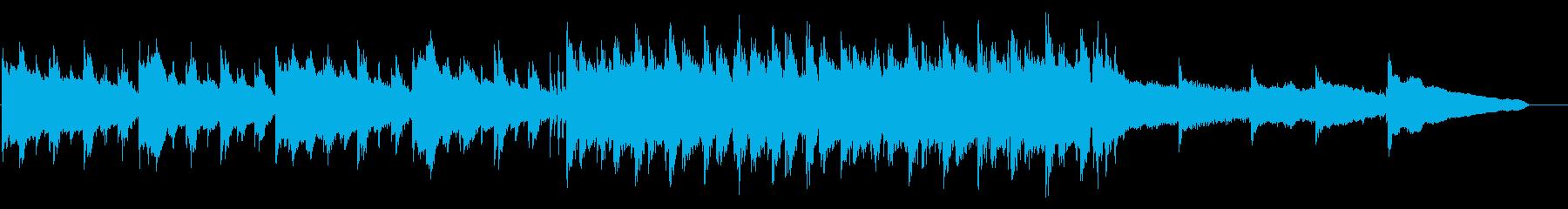 哀愁漂うハードボイルド・エレキギターメロの再生済みの波形