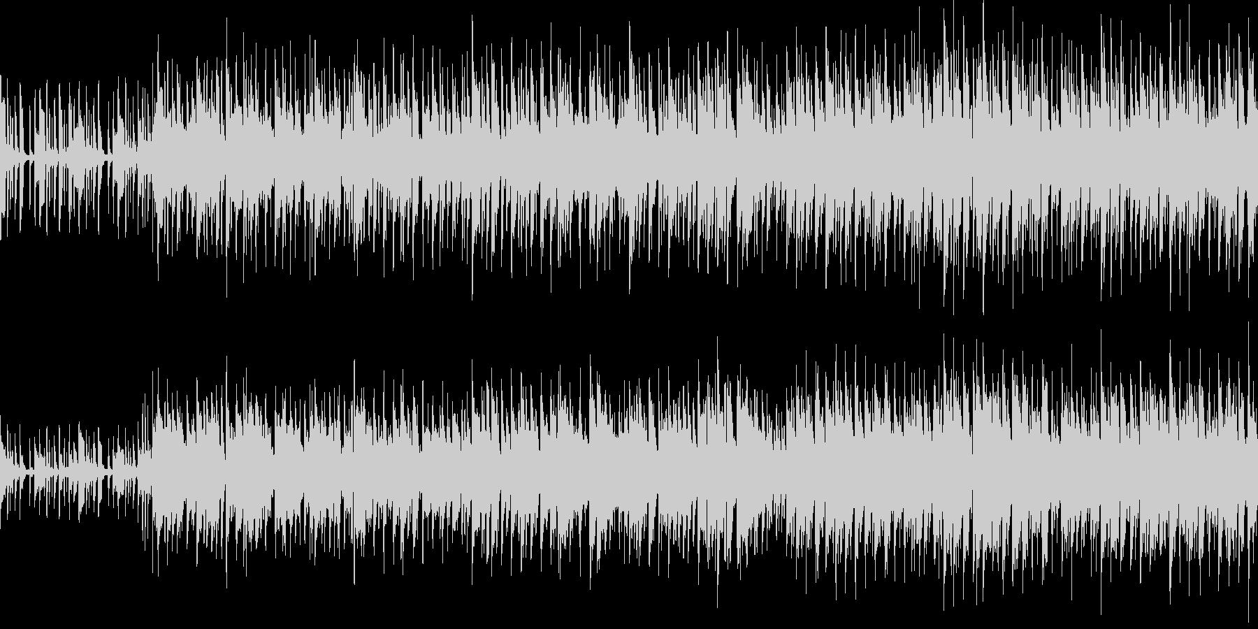 オルガンとベースがカッコいいロックループの未再生の波形