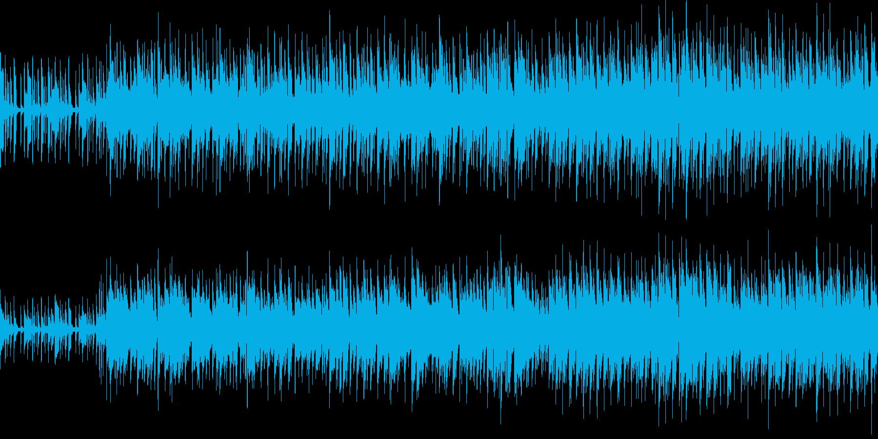 オルガンとベースがカッコいいロックループの再生済みの波形
