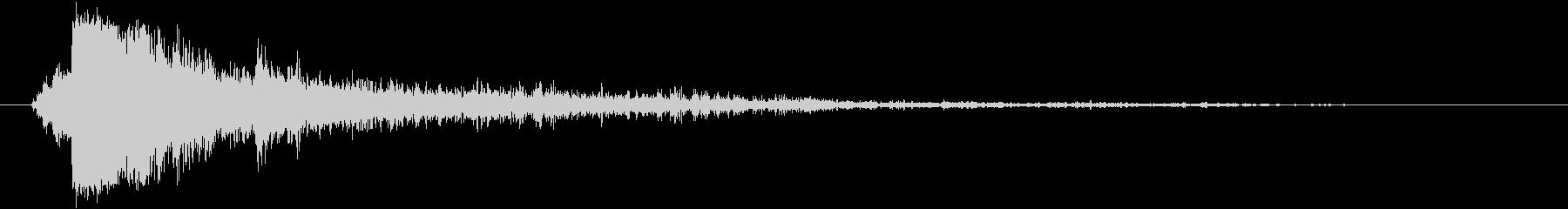 サンダークラップ2-ヘビーファース...の未再生の波形