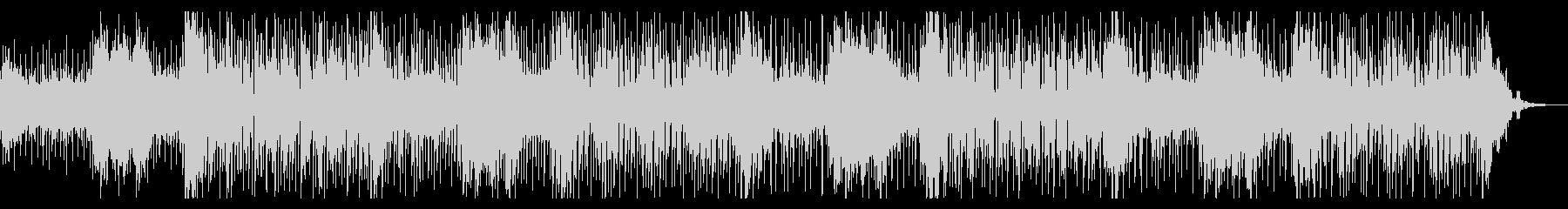 エスニックな雰囲気のアンビエントの未再生の波形