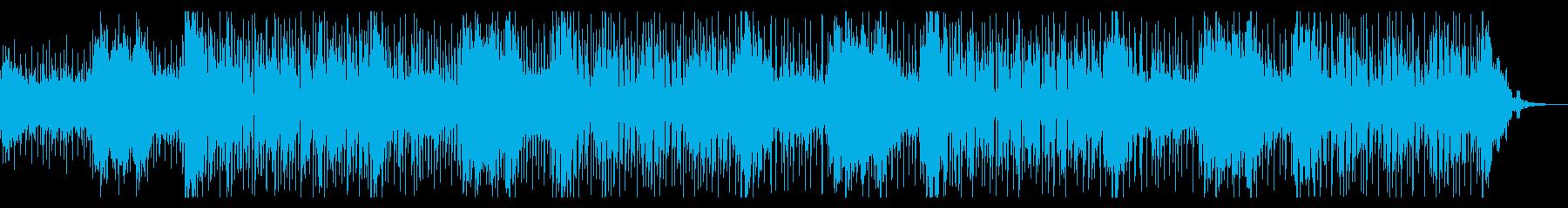 エスニックな雰囲気のアンビエントの再生済みの波形