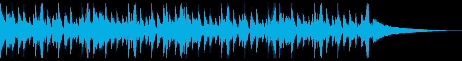 爽やかなハウス_4の再生済みの波形
