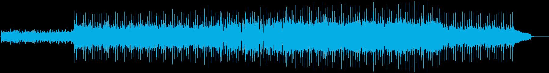 VP系17E、爽やかなロック、ドライブの再生済みの波形