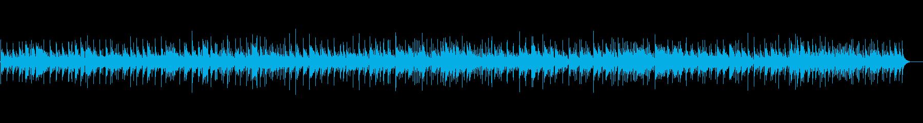 ほのぼの感漂うポップなボサノバの再生済みの波形
