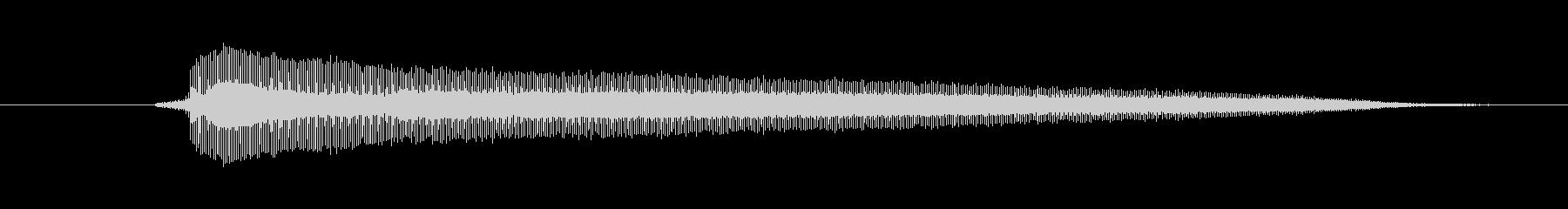 ホーン Hoot Sad 02の未再生の波形