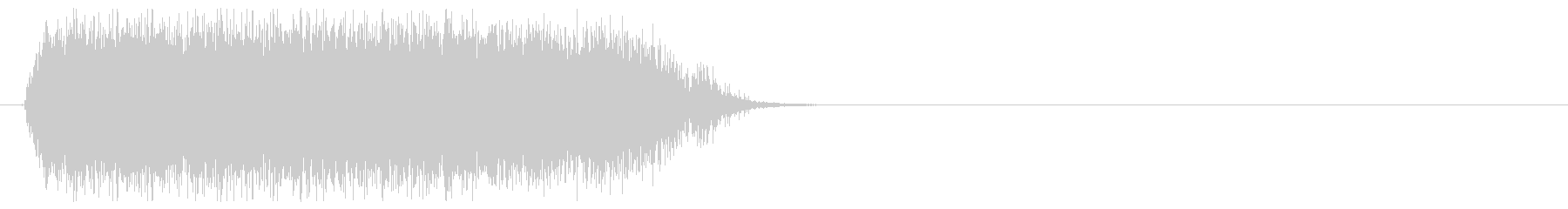 「ヴァ゙ァ゙ァ゙ー」モンスター叫び声/3の未再生の波形