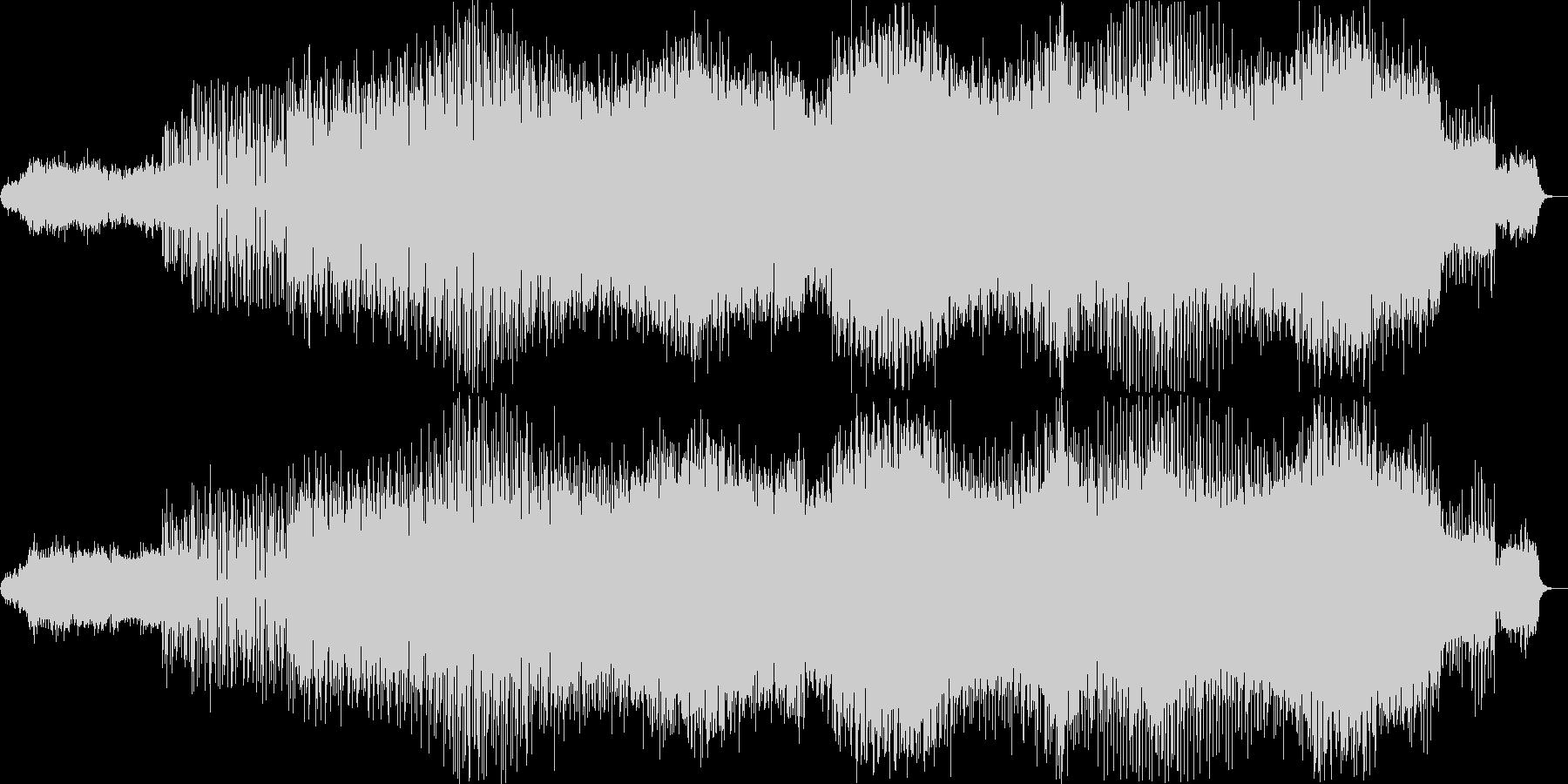 奇妙で幻想的なアシッドテクノの未再生の波形