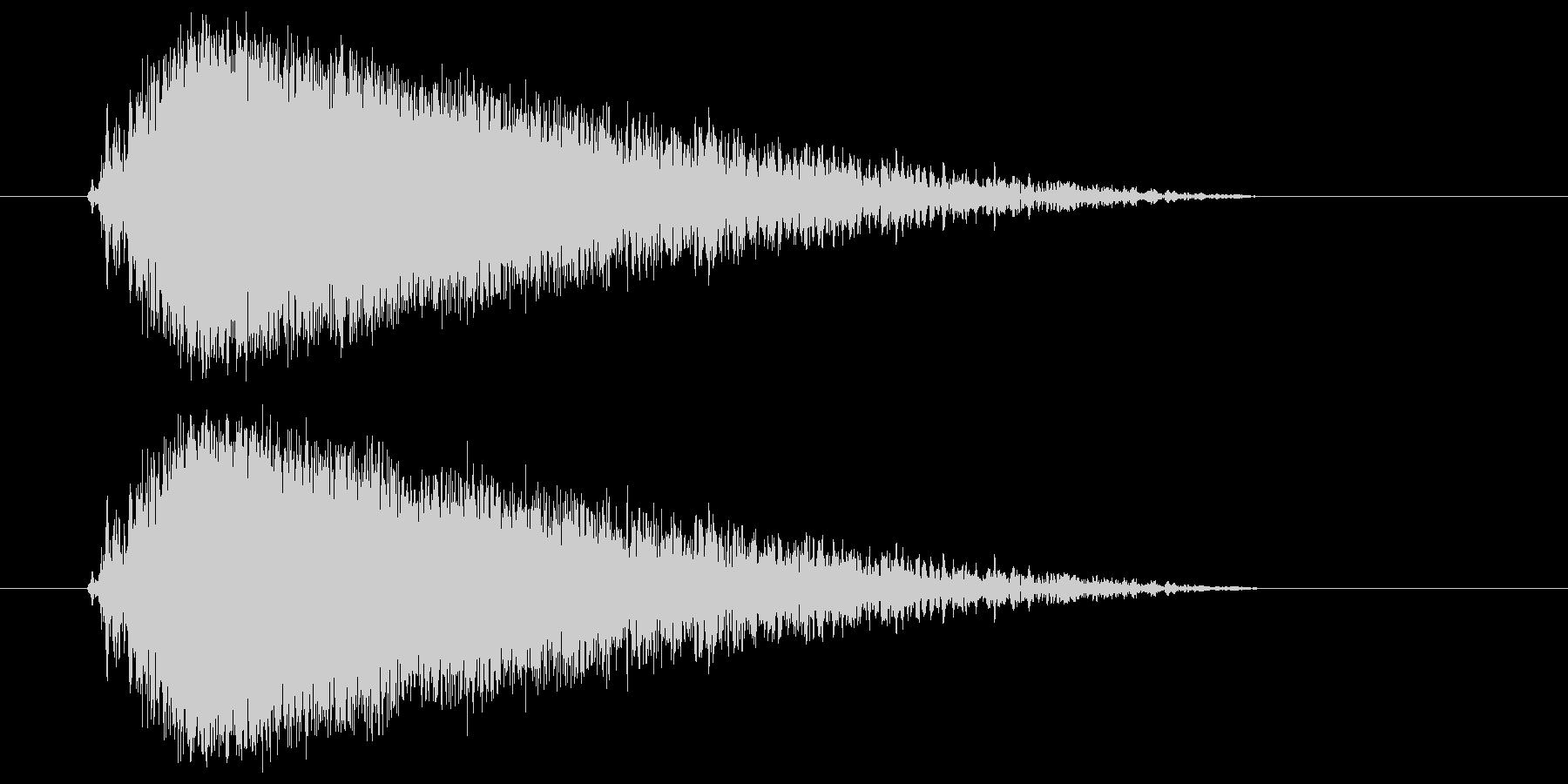 ビュー(強い風の音) 02の未再生の波形