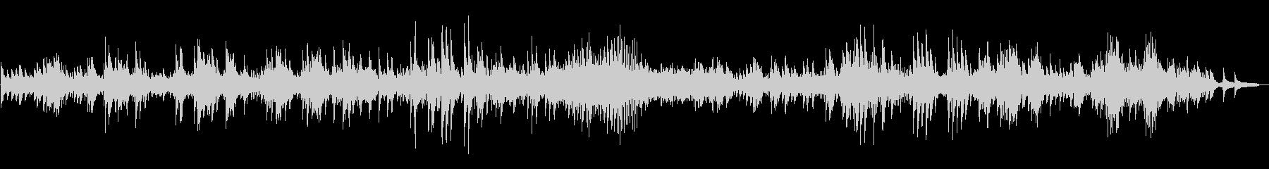 ピアノソロ、ベートーヴェンの月光の未再生の波形