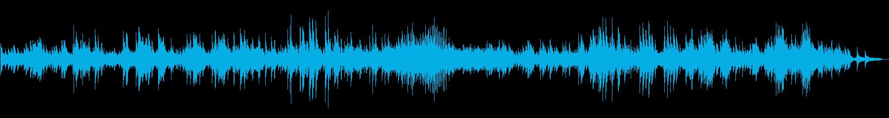 ピアノソロ、ベートーヴェンの月光の再生済みの波形