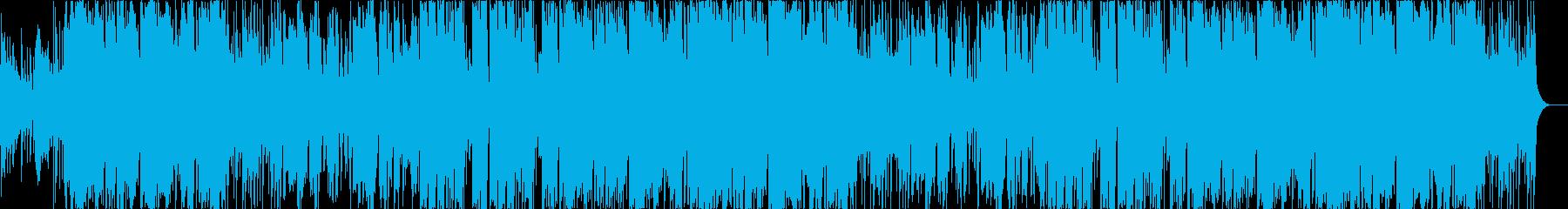異世界・ファンタジーのロックBGMの再生済みの波形