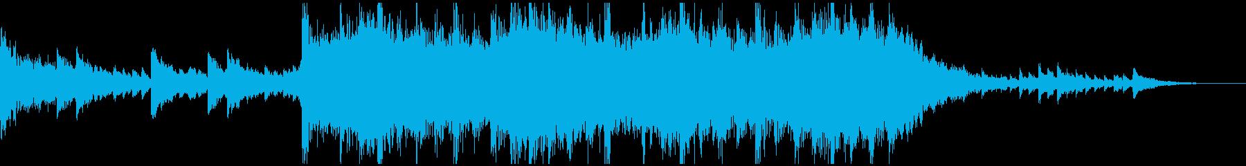 現代の交響曲 電気音響シンフォニー...の再生済みの波形