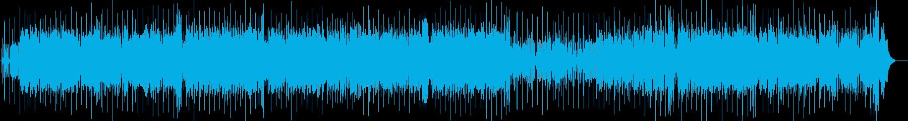 真夏の熱いラテンフュージョン 海ドライブの再生済みの波形