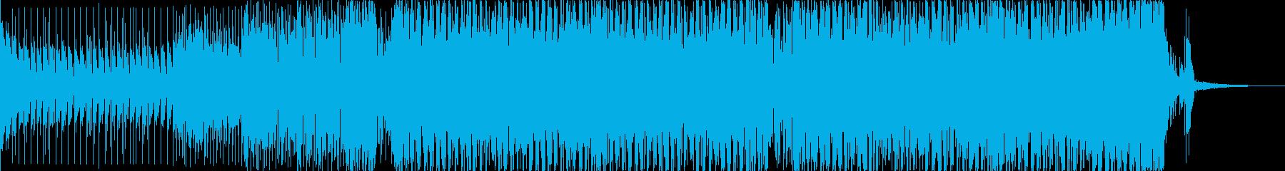 ちょっと不気味なサイトランスのジングルの再生済みの波形