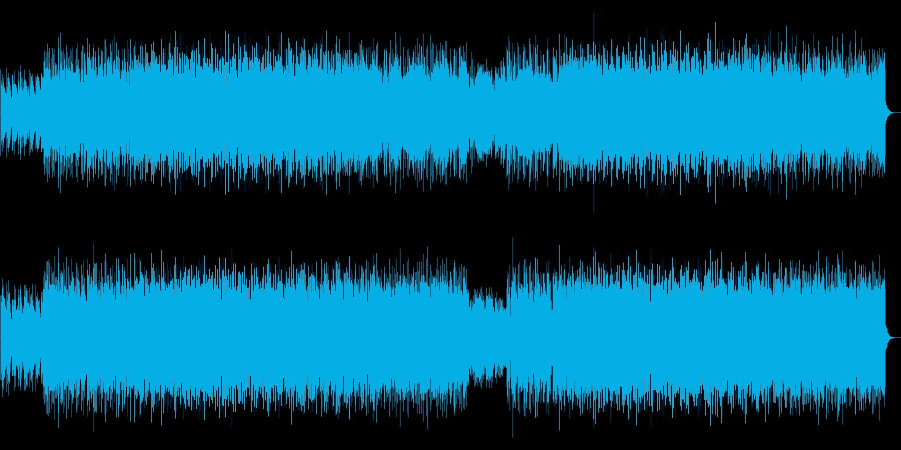 生演奏アコギ 哀愁感のあるエモいBGMの再生済みの波形