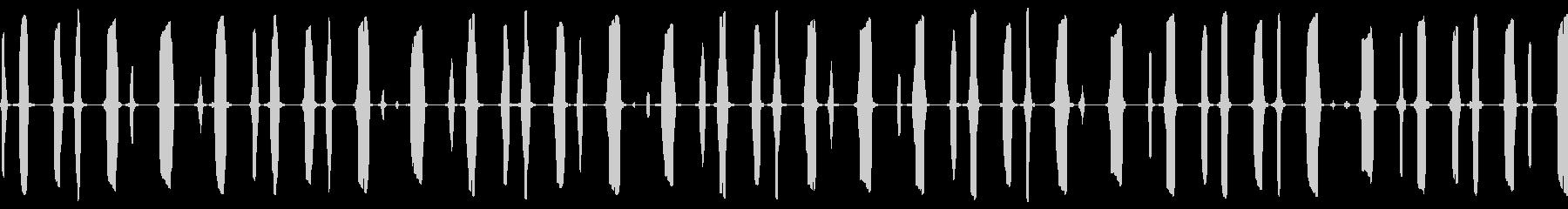 放射線検出器:高速電子トーン、SC...の未再生の波形