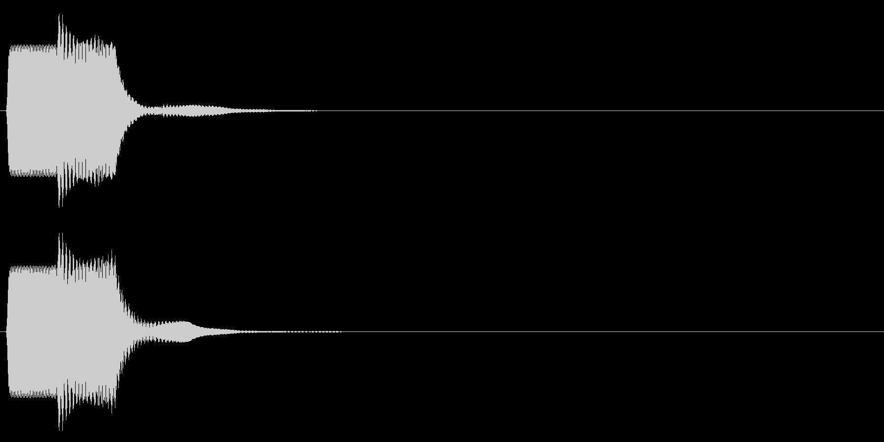 ピコン_矩形波(終了,停止,通知)_01の未再生の波形