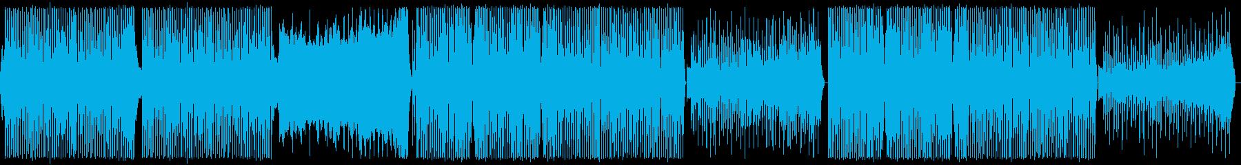 ジャジーなエレクトロスウィングの再生済みの波形