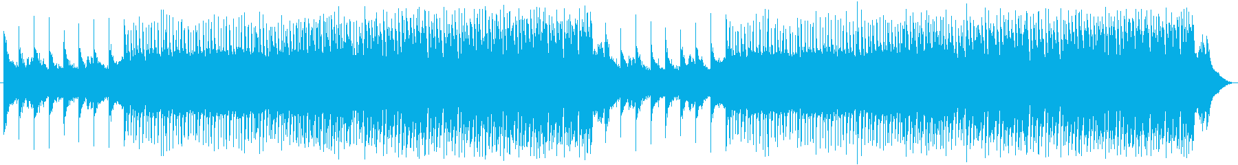 EDM ピアノ・軽快の再生済みの波形