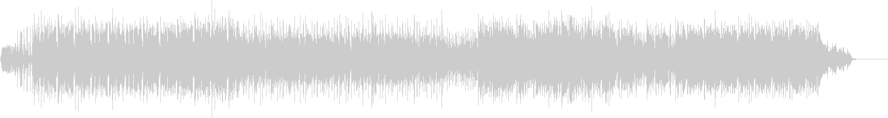 アクション向けのビート重視ポストロックの未再生の波形