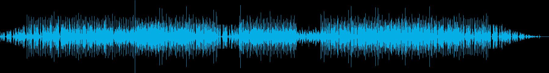 Gt浪人がGt達と出会い旅を続けていく曲の再生済みの波形