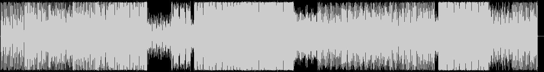 シリアスな雰囲気のゲーム用途BGMの未再生の波形