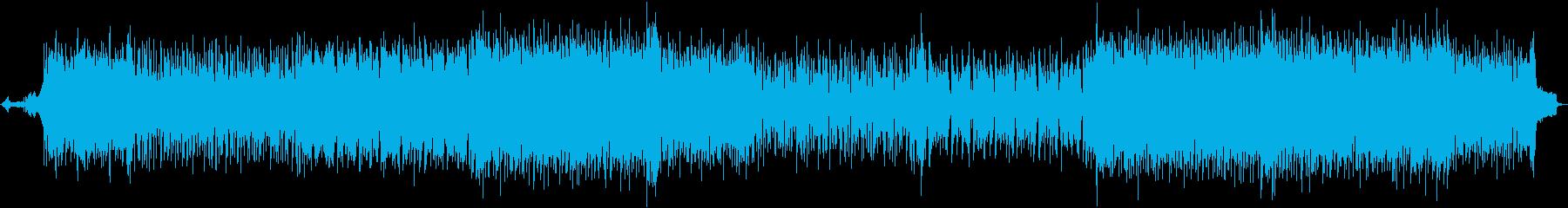 疾走感のあるアニメっぽいポップスの再生済みの波形