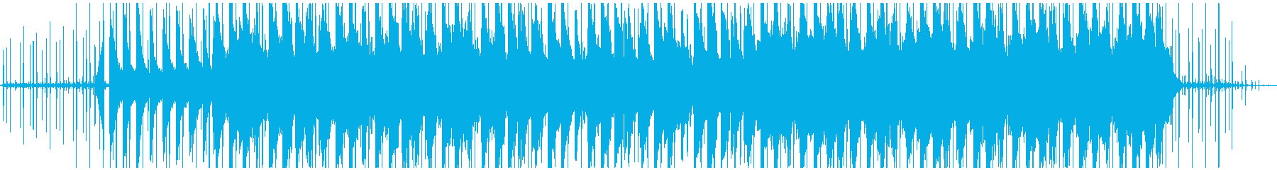 真夜中の静けさをイメージしたLofiの再生済みの波形