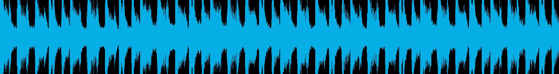 エキゾチックでシンプルなダンスLoopの再生済みの波形