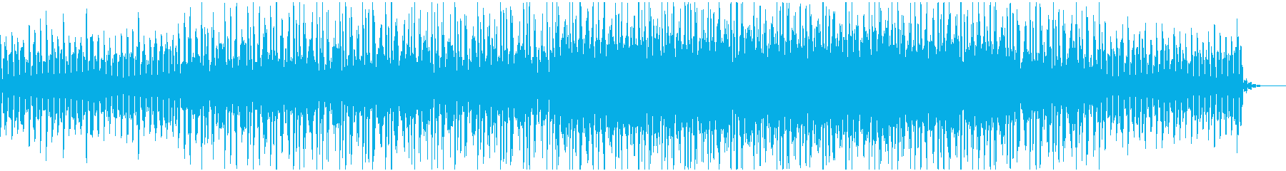 psytrance/シンセループの再生済みの波形