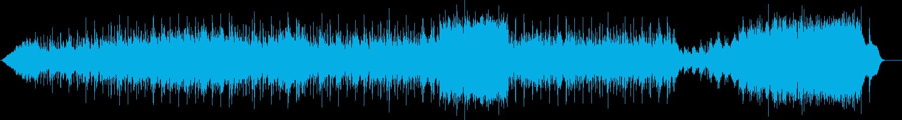 スケール感のある幻想的なアンビエントの再生済みの波形