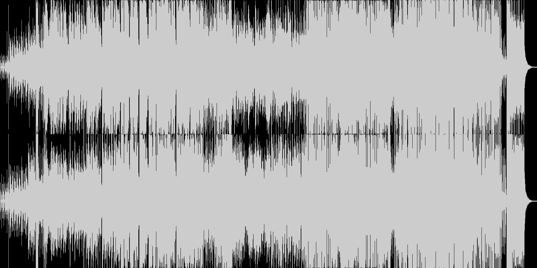 オールドだけどスタイリッシュなジャズの未再生の波形