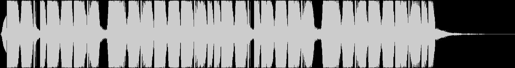 透明感 ジングル Future Bassの未再生の波形