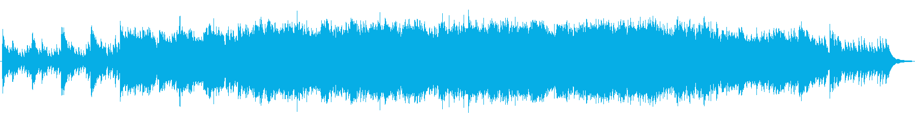 01 ENDING PIANO&TVCMの再生済みの波形
