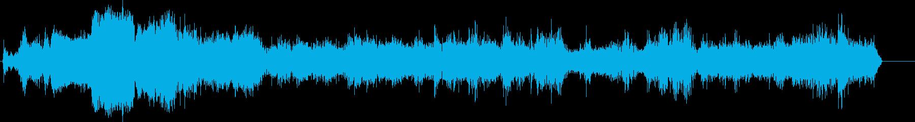 トラック;インテリア;インテリアプ...の再生済みの波形