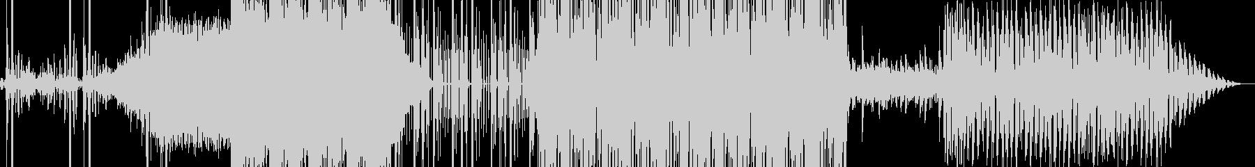 ノスタルジックでテンポのよい曲の未再生の波形