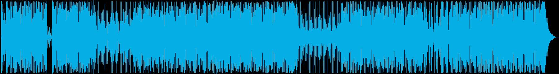 ハードコア。無制限。無線。の再生済みの波形