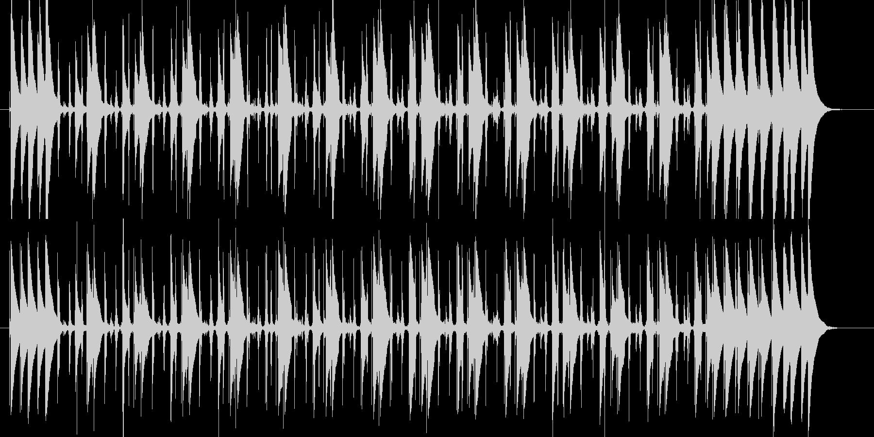 コンガの躍動するリズムLa Bomba3の未再生の波形