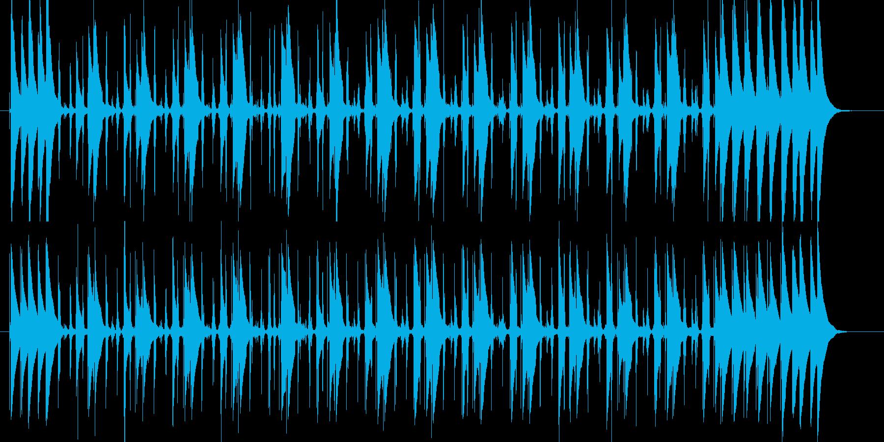 コンガの躍動するリズムLa Bomba3の再生済みの波形
