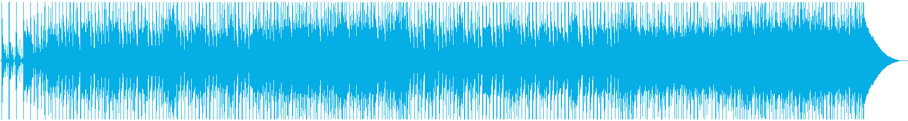 沖縄らしい三線ポップスの再生済みの波形