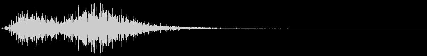 Battle 戦闘エフェクト音 4の未再生の波形