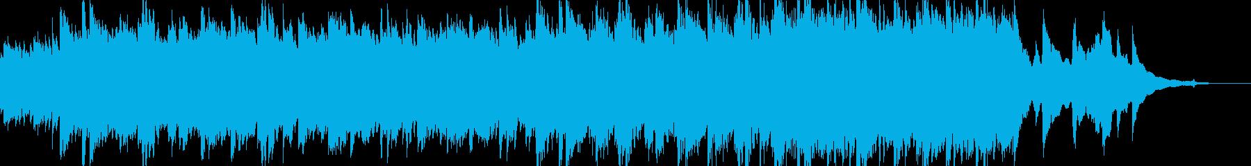現代的 交響曲 ほのぼの 幸せ 感...の再生済みの波形