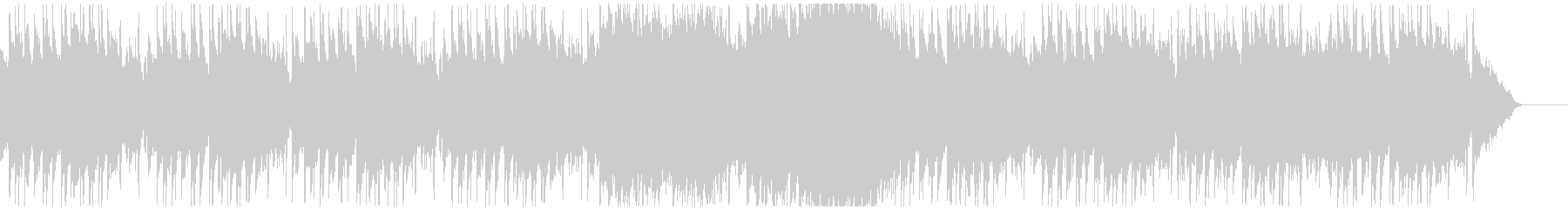 グロッケンが可愛い跳ねたリズムのインストの未再生の波形
