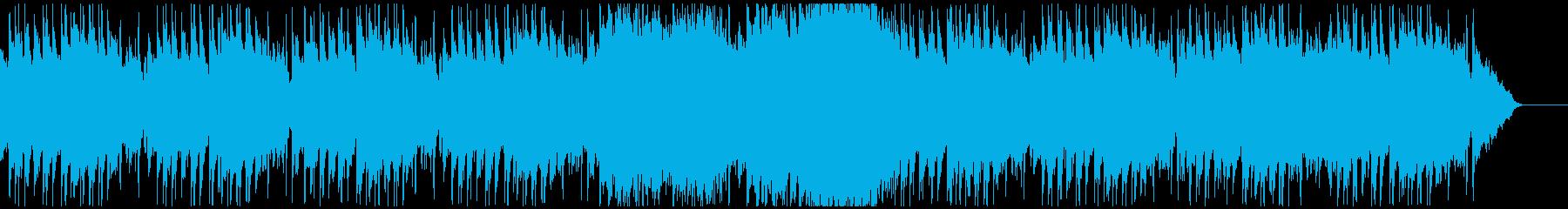 グロッケンが可愛い跳ねたリズムのインストの再生済みの波形