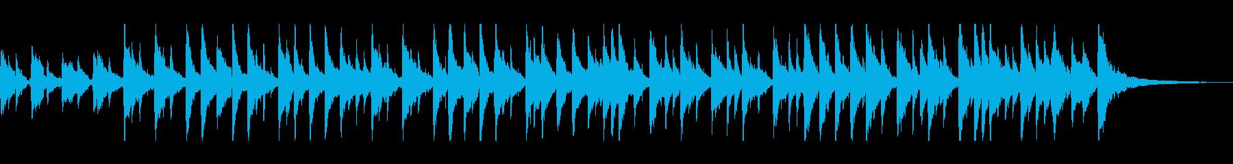 しっとりと穏やかなアコギサウンドの再生済みの波形