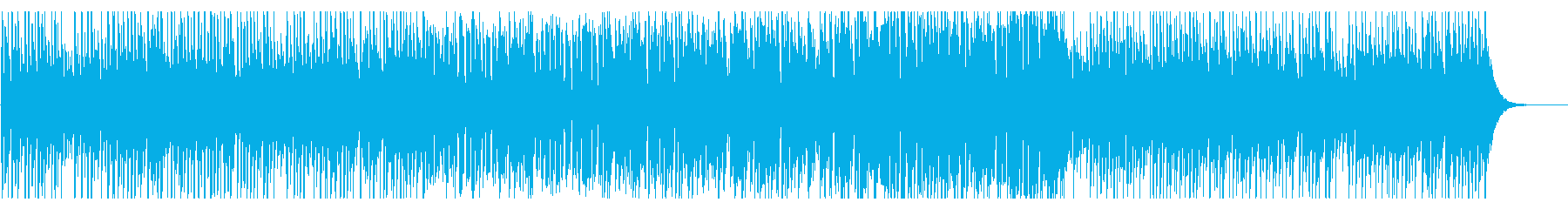 クール、シーケンス_前半省略の再生済みの波形