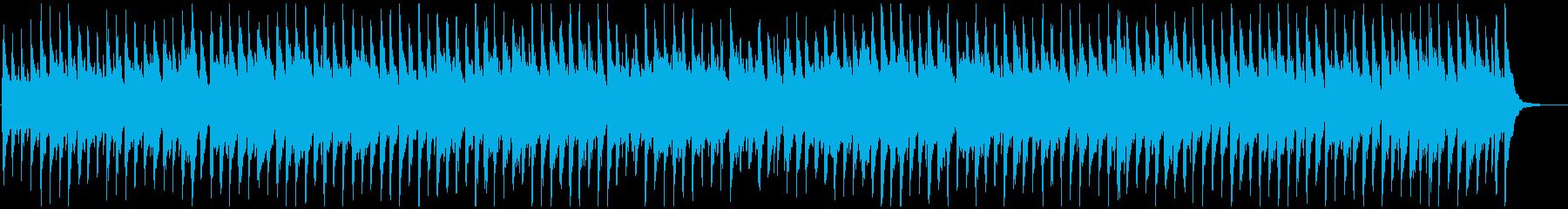 コロコロとした跳ねるリズムのウクレレ曲の再生済みの波形